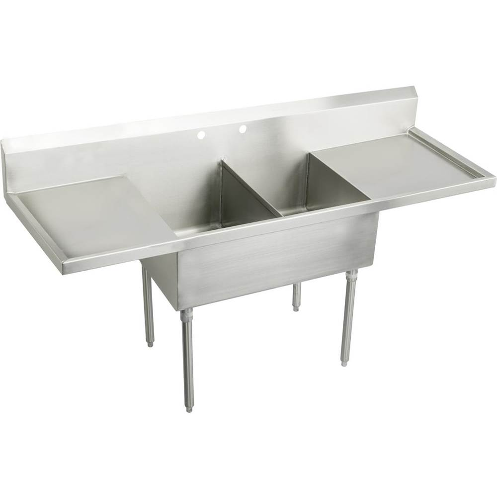 Elkay Console Laundry And Utility Sinks item SS8230LROF4