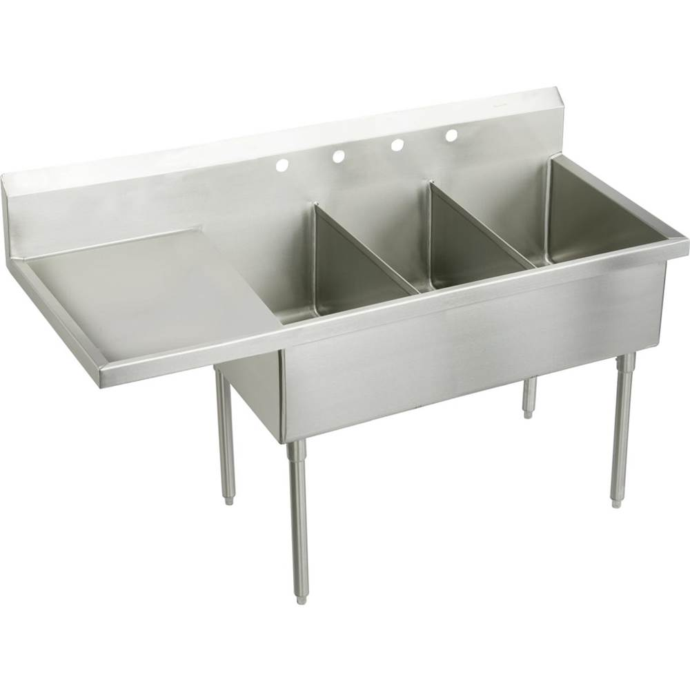 Elkay Console Laundry And Utility Sinks item SS8345LOF3