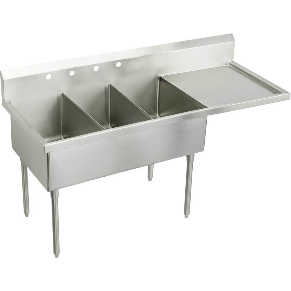 Elkay Console Laundry And Utility Sinks item SS8360ROF4