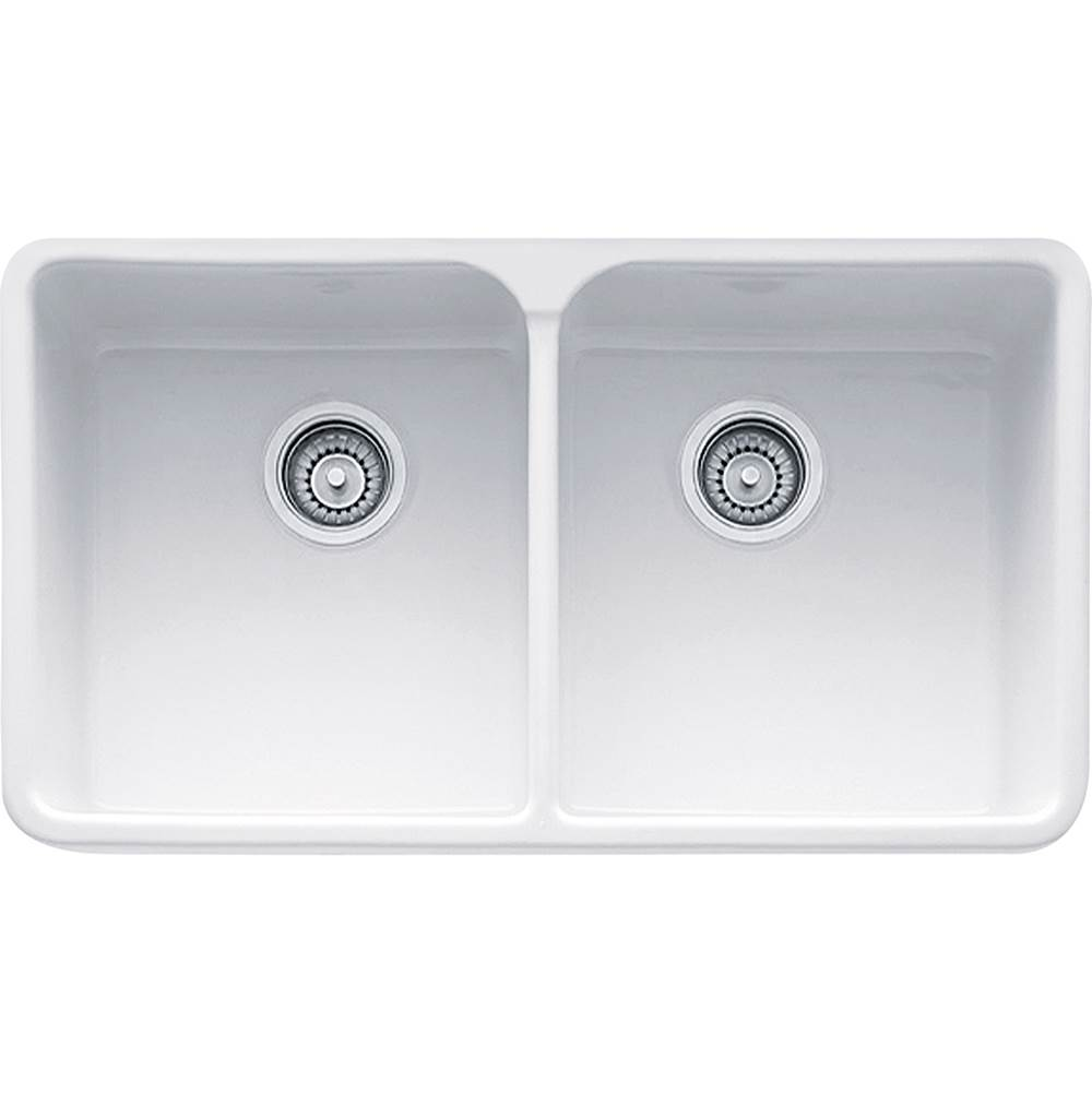 Franke Undermount Kitchen Sinks item MHK720-31WH