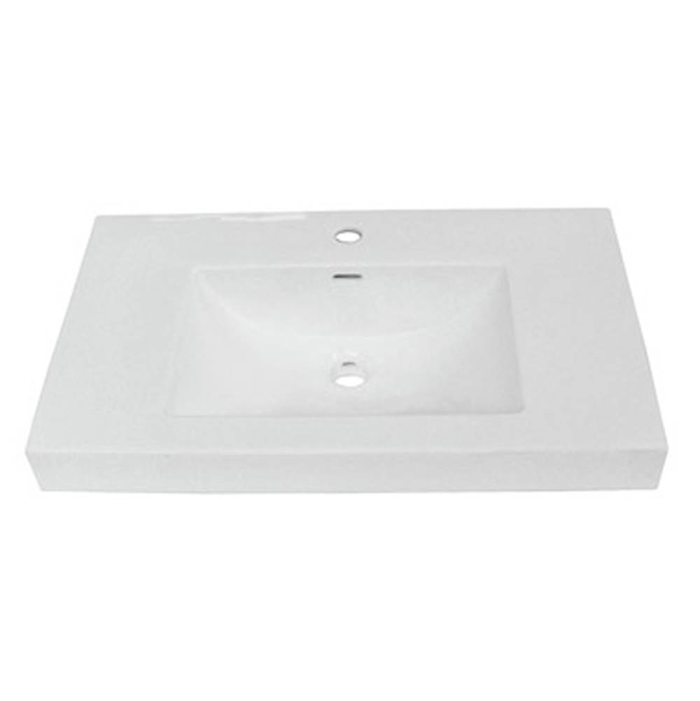 Fairmont Designs Drop In Bathroom Sinks item S-11030W1