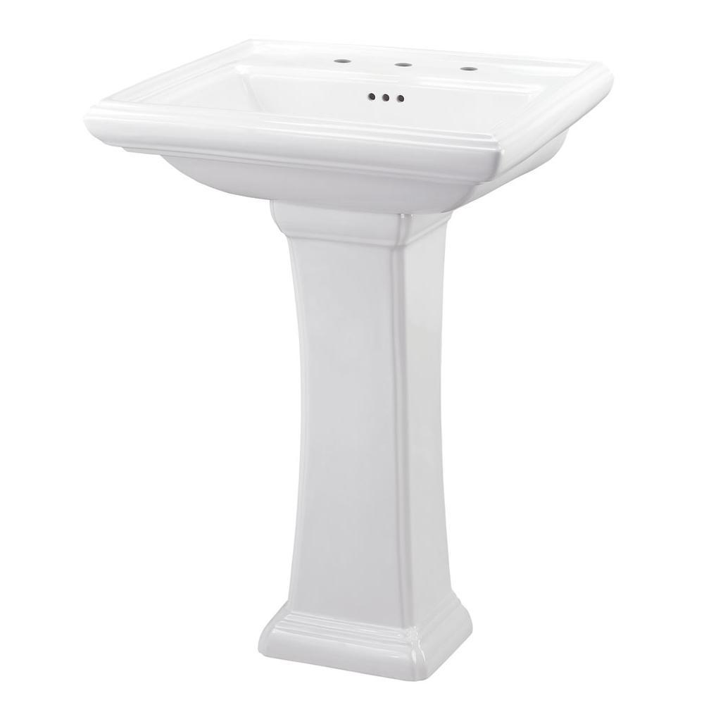 Gerber Plumbing Bathroom Sinks Pedestal Bathroom Sinks Logan Square ...