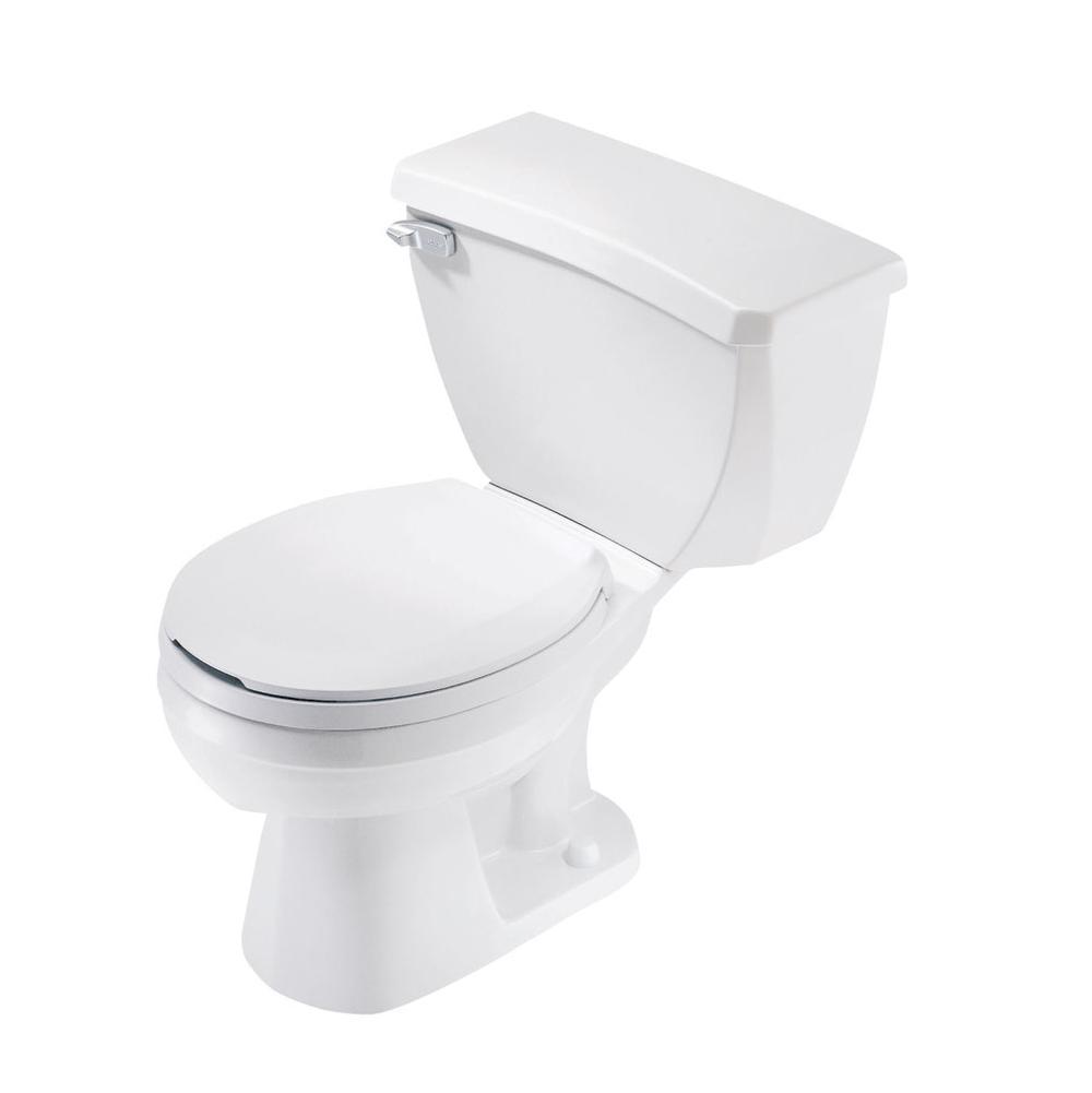 Gerber plumbing toilets two piece floor mount white for Gerbiere toit