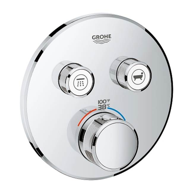 Grohflex Grandera Dual Function Thermostatic Trim With Control Module Grohe 19944EN0