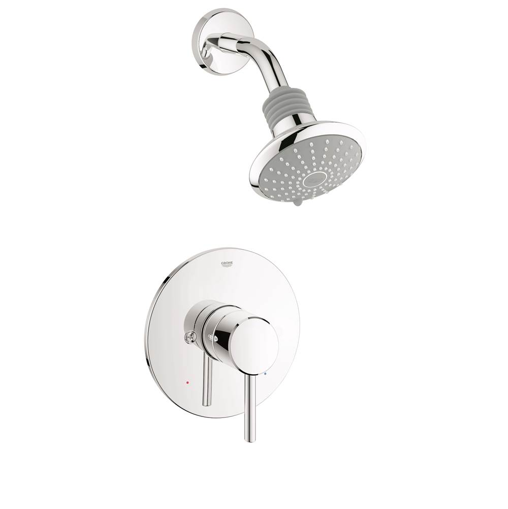 Grohe  Shower Only Faucets With Head item 35010001