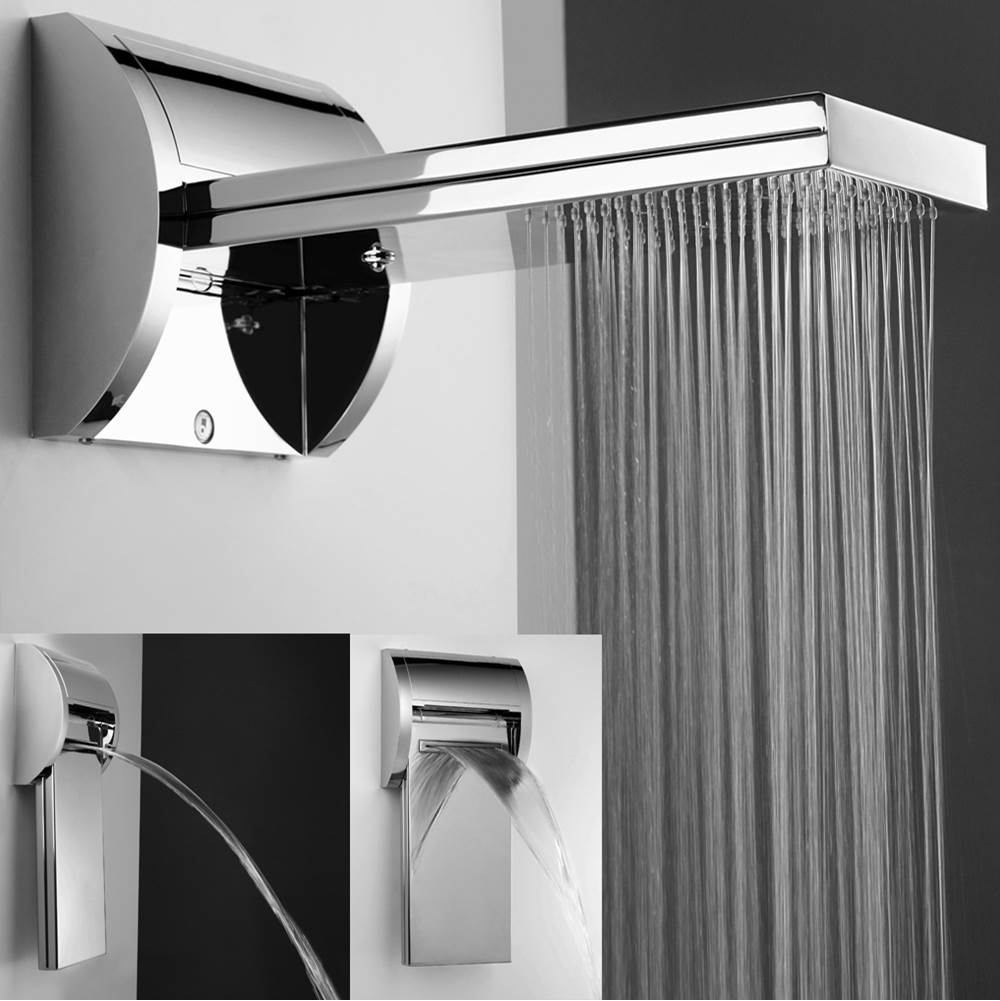 Jaclo Rainshowers Shower Heads item 1728-PSS