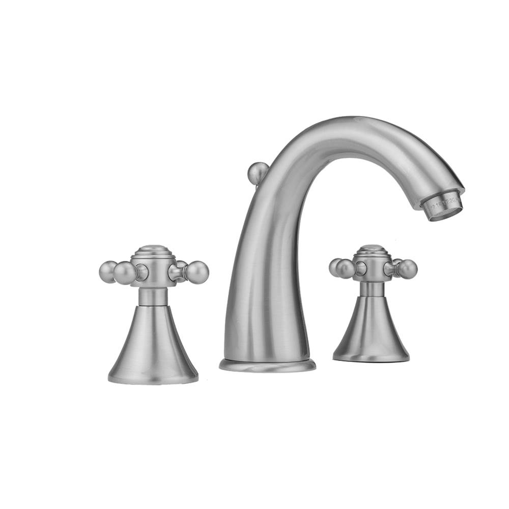 Jaclo Widespread Bathroom Sink Faucets item 5460-T677-1.2-WH
