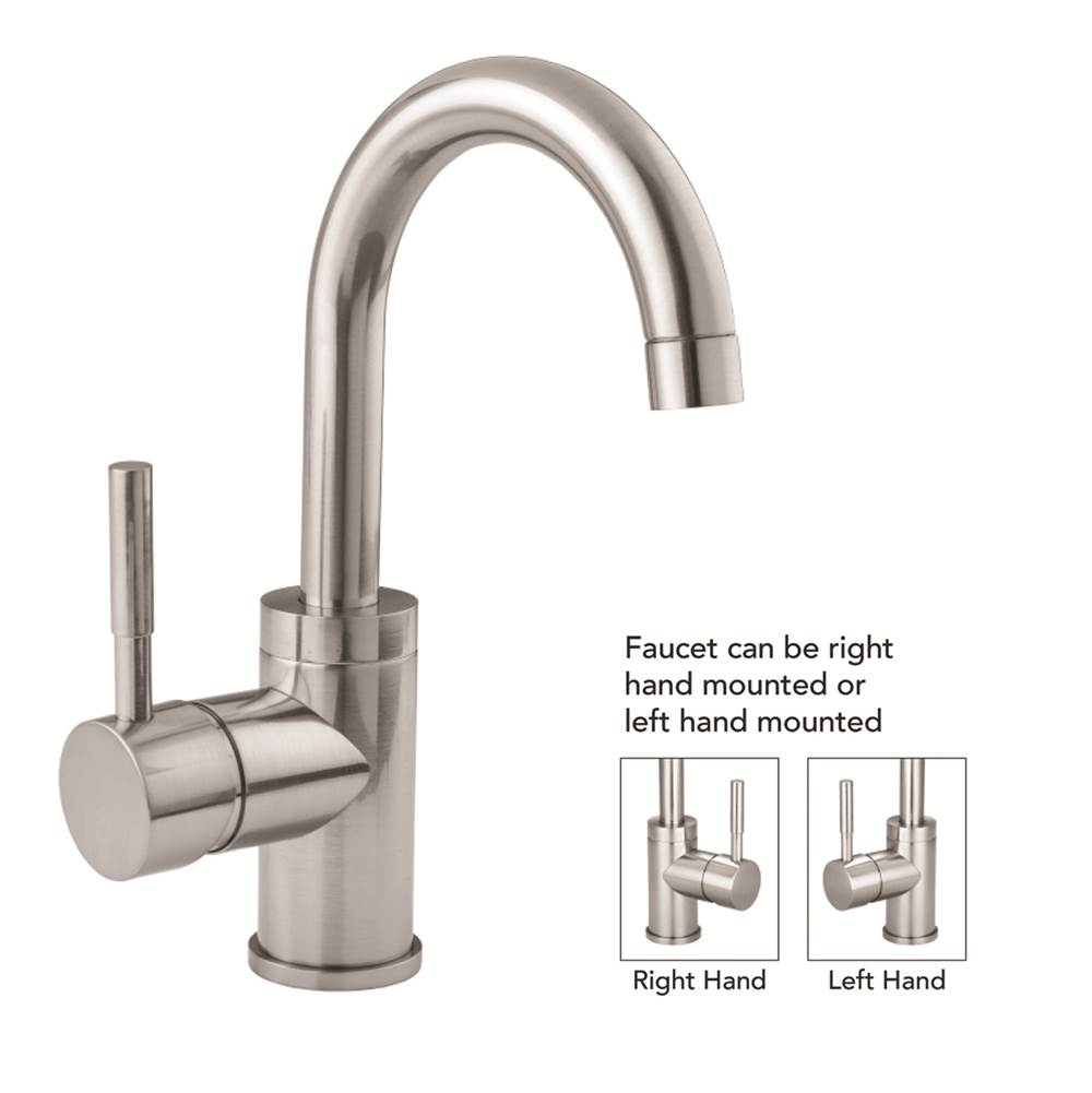 Jaclo Single Hole Kitchen Faucets item 6677-PN