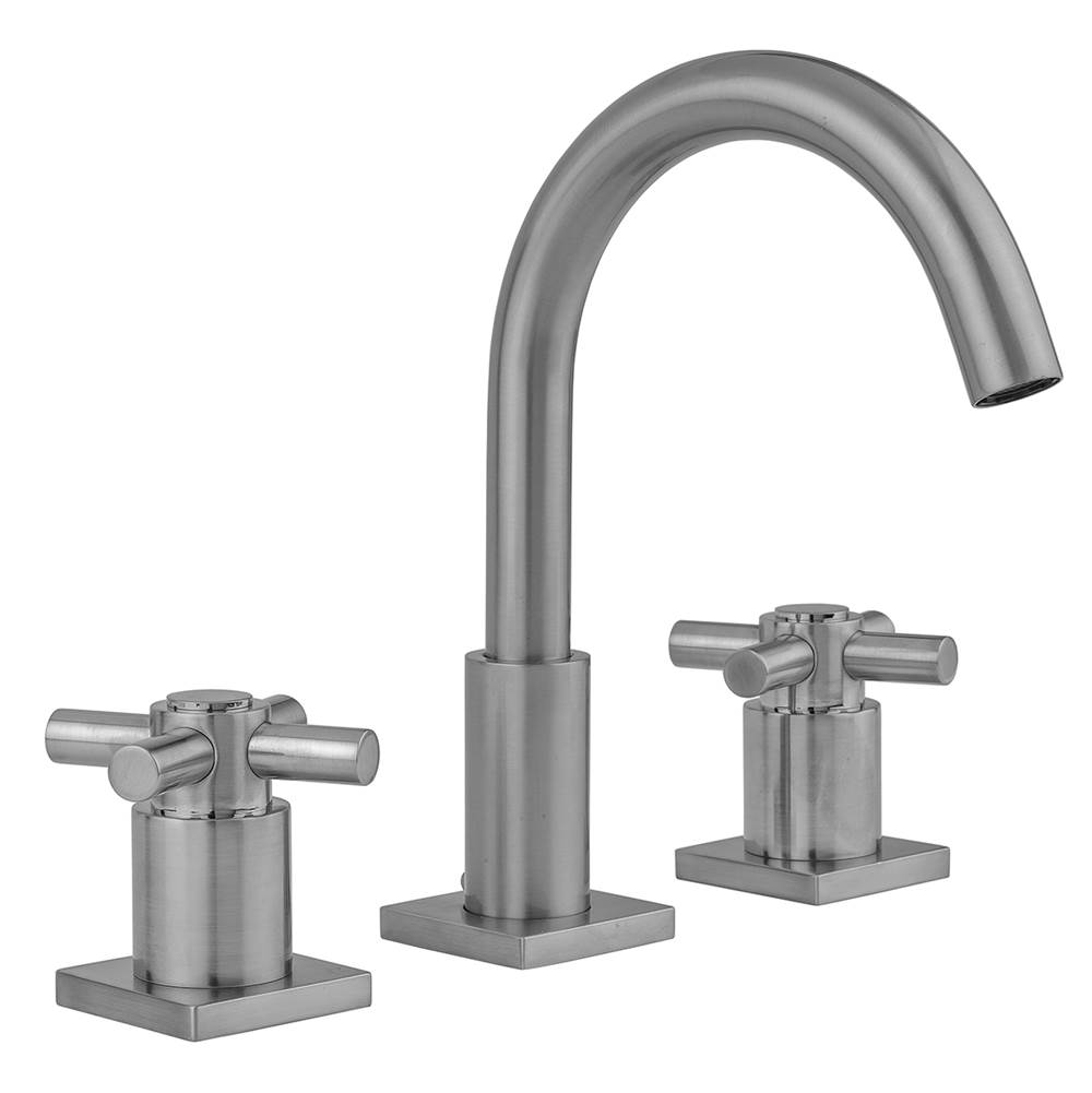 Jaclo Widespread Bathroom Sink Faucets item 8881-SQC-0.5-BKN