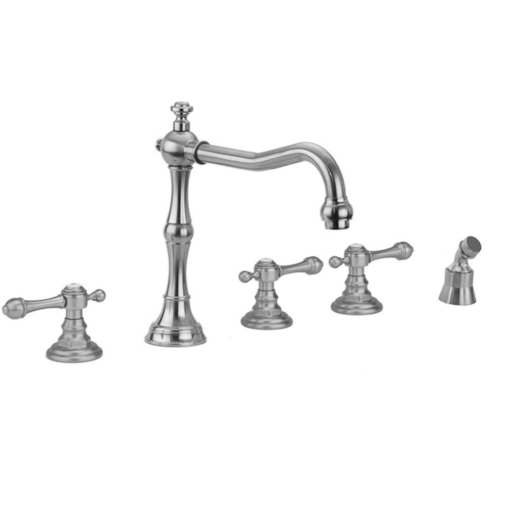 Jaclo  Roman Tub Faucets With Hand Showers item 9930-T692-A-240-TRIM-RG