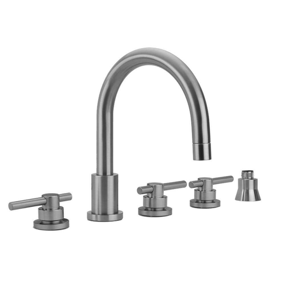 Jaclo  Roman Tub Faucets With Hand Showers item 9980-T638-S-456-TRIM-RG