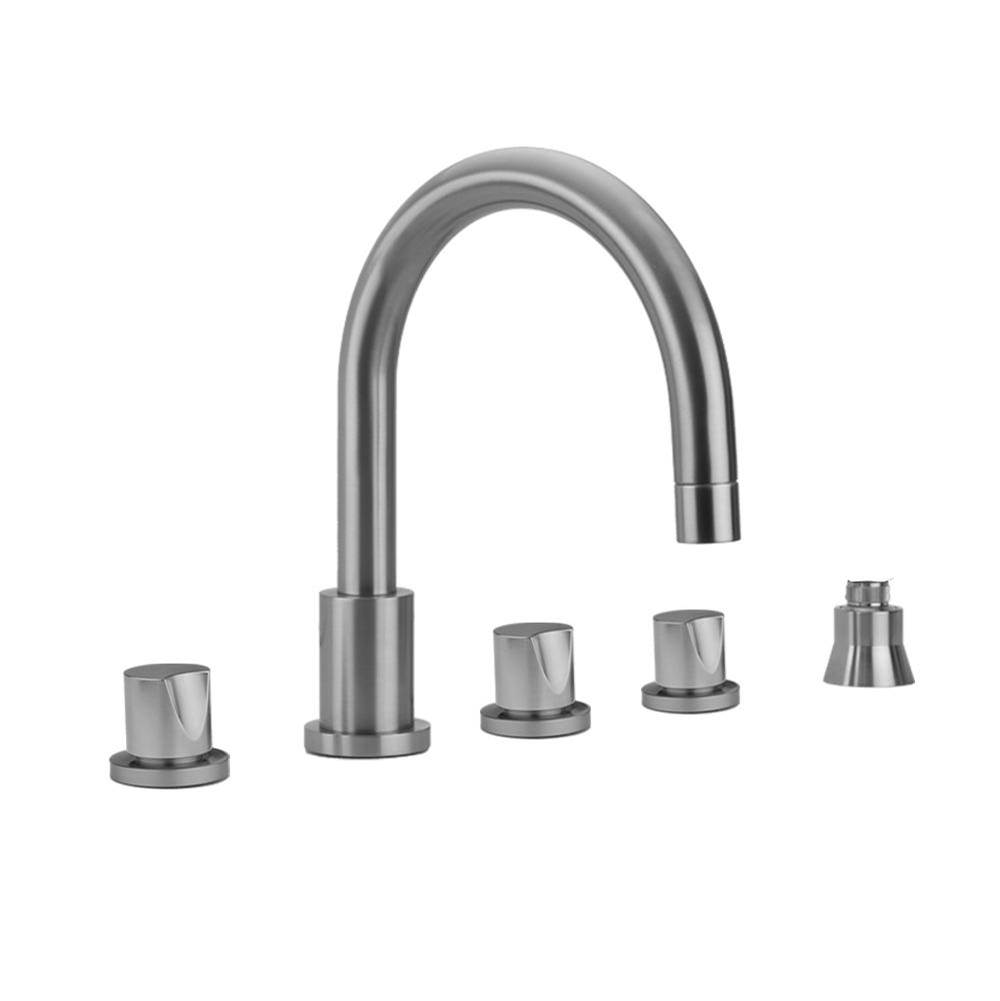 Jaclo  Roman Tub Faucets With Hand Showers item 9980-T672-S-456-TRIM-RG