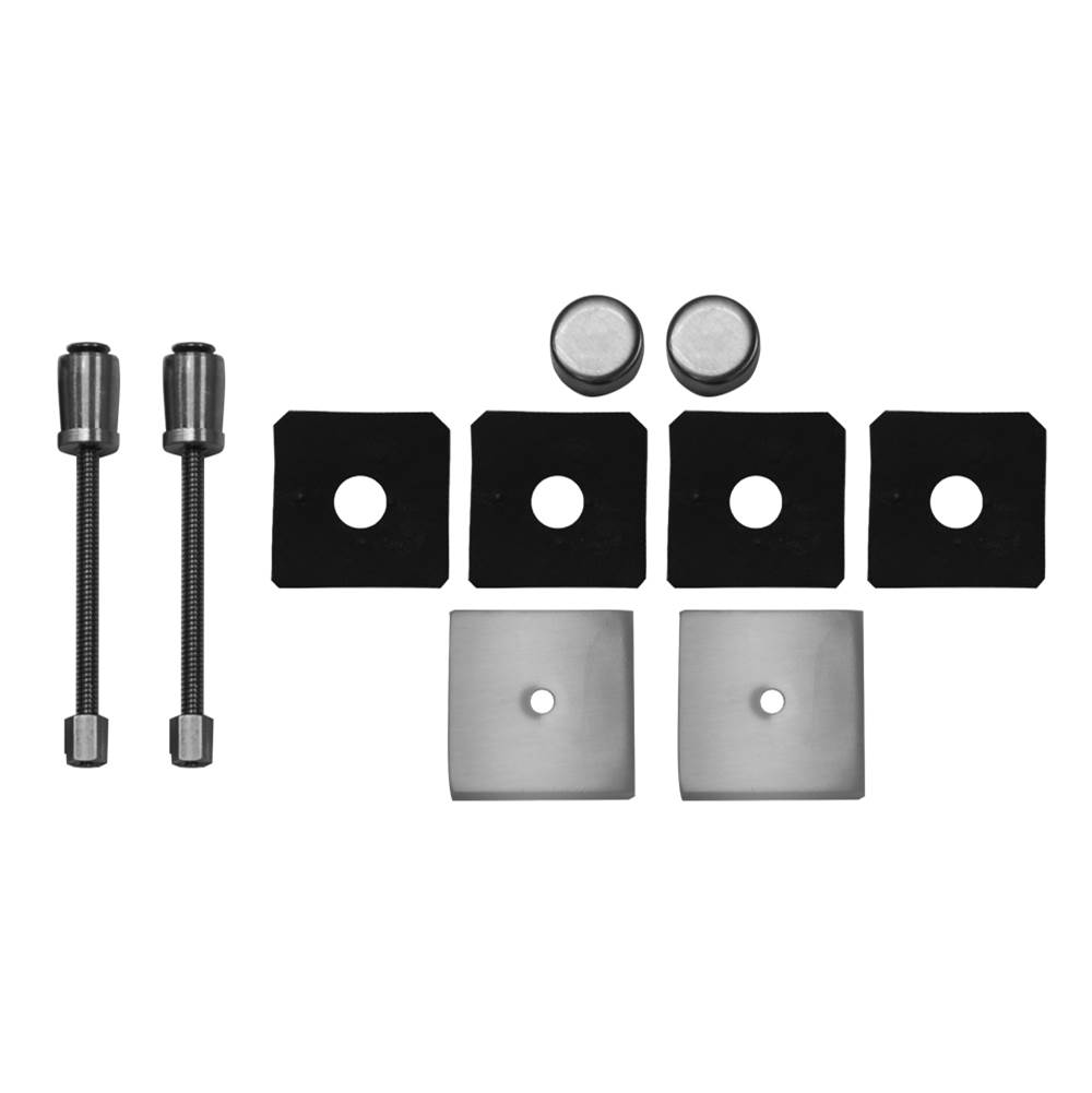 Jaclo Shower Door Pulls Shower Accessories item H42-GLSKIT-SDB