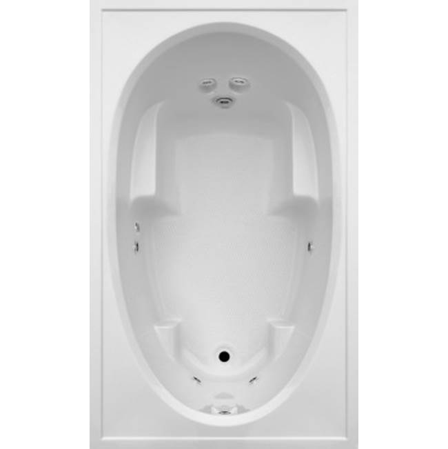 Jetta Drop In Whirlpool Bathtubs item J5X-6528RB