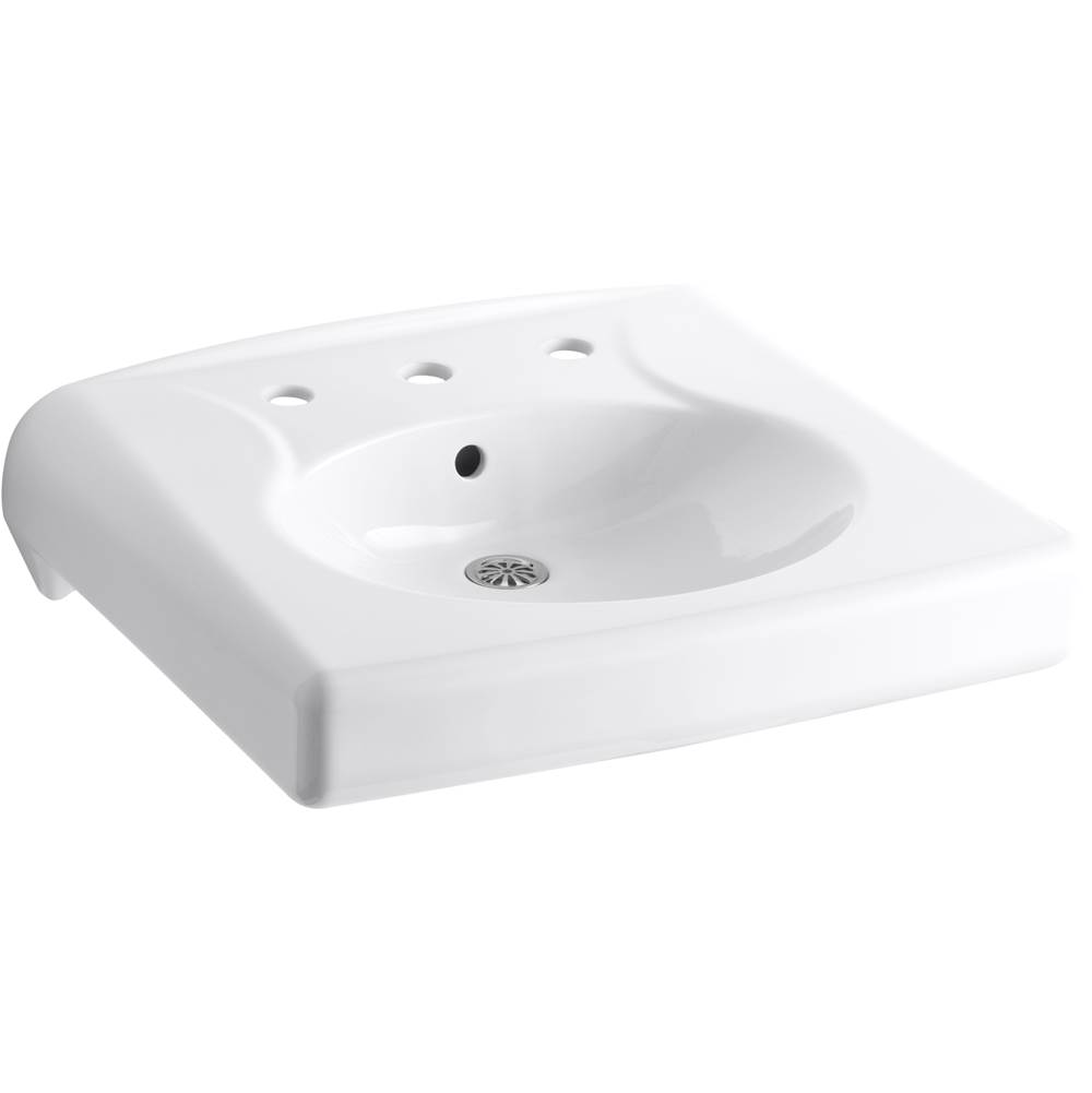 Kohler Wall Mount Bathroom Sinks item 1997-SS8-0