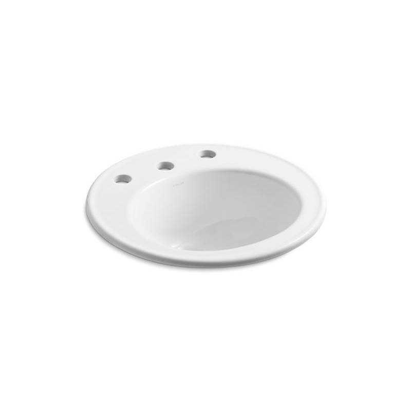 Kohler Drop In Bathroom Sinks item 2202-8-0