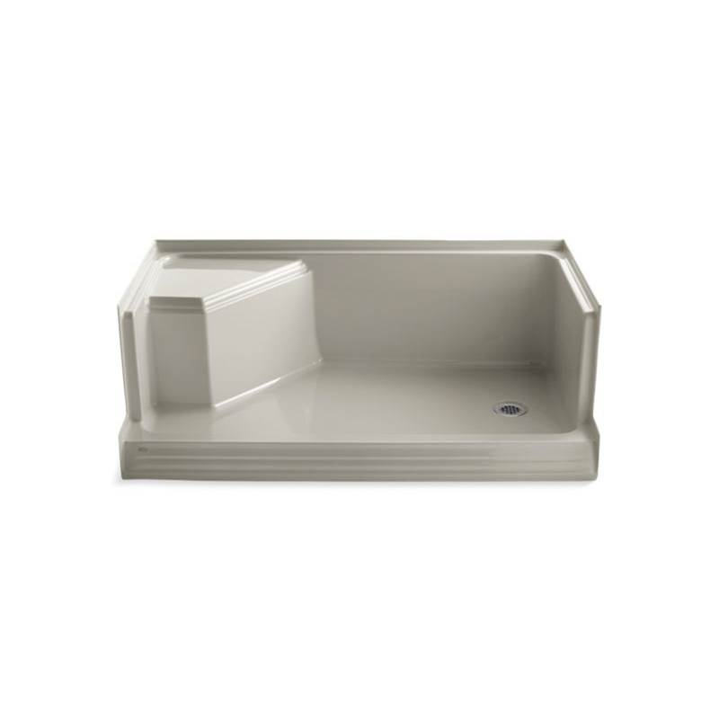 Kohler Three Wall Alcove Shower Bases item 9496-G9