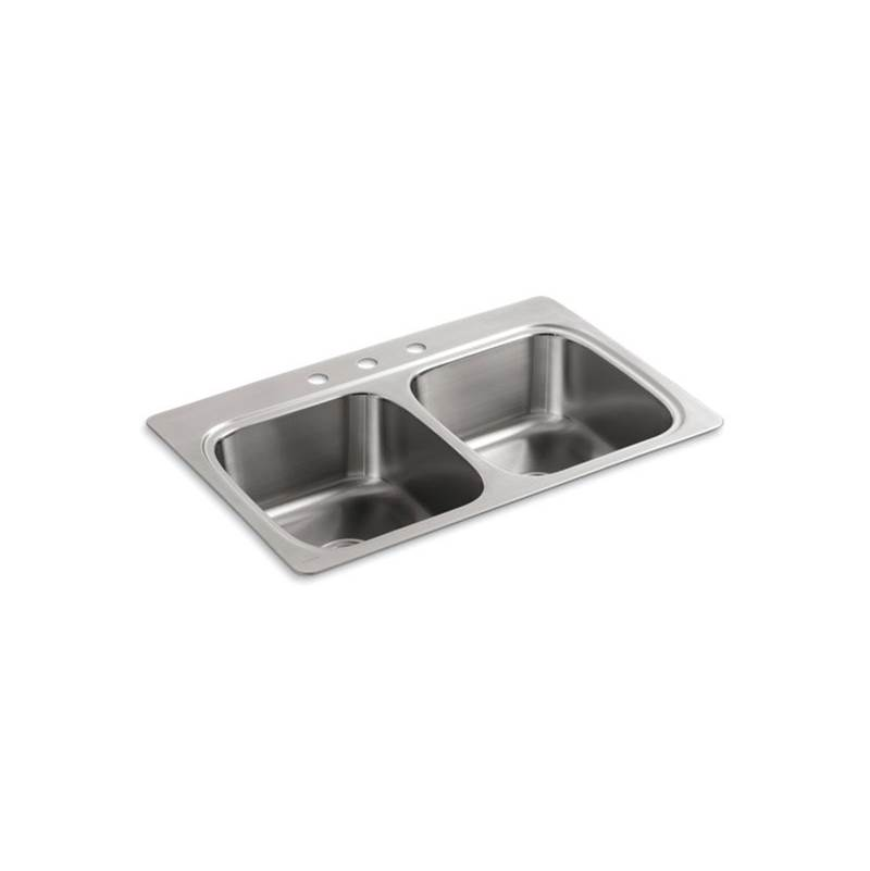 Kohler Drop In Kitchen Sinks item 5267-3-NA