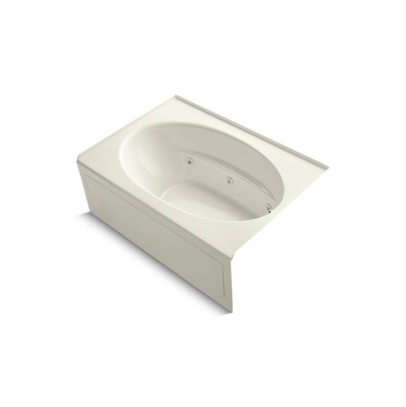 Kohler Three Wall Alcove Whirlpool Bathtubs item 1112-HR-96