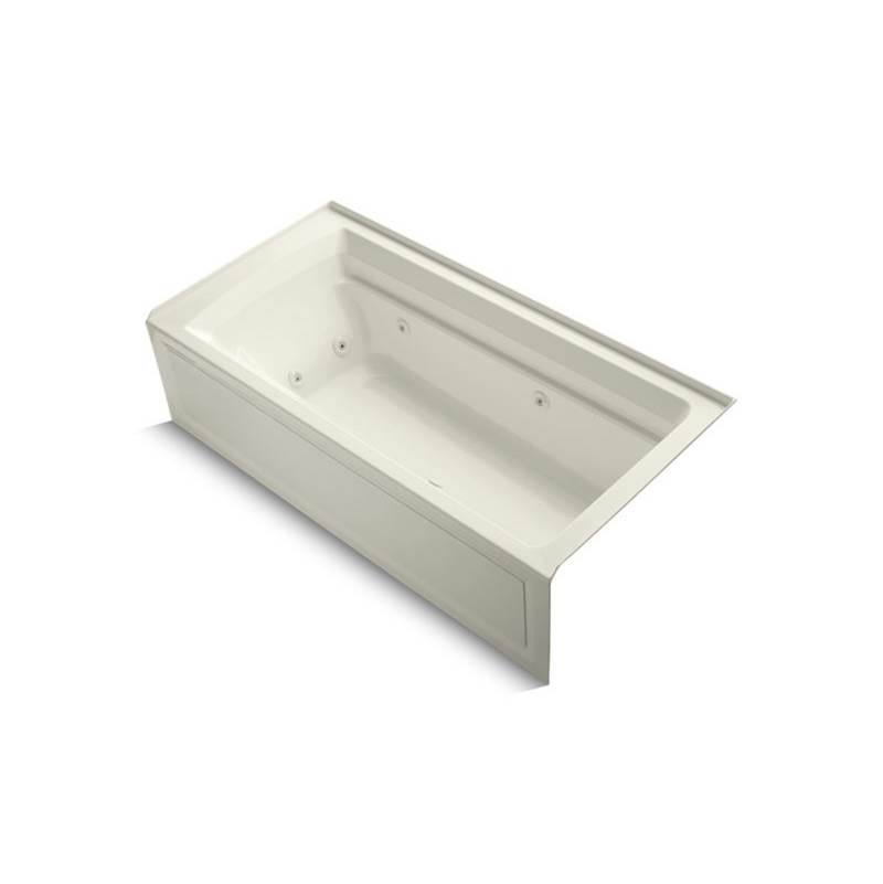 Kohler Three Wall Alcove Whirlpool Bathtubs item 1124-HR-G9