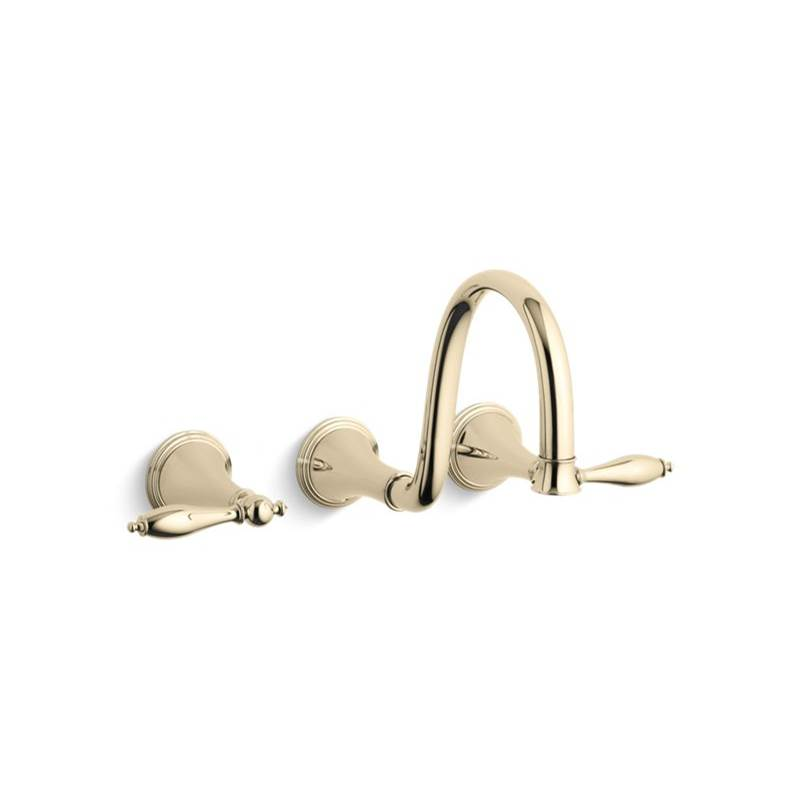 Kohler Wall Mounted Bathroom Sink Faucets item T343-4M-AF