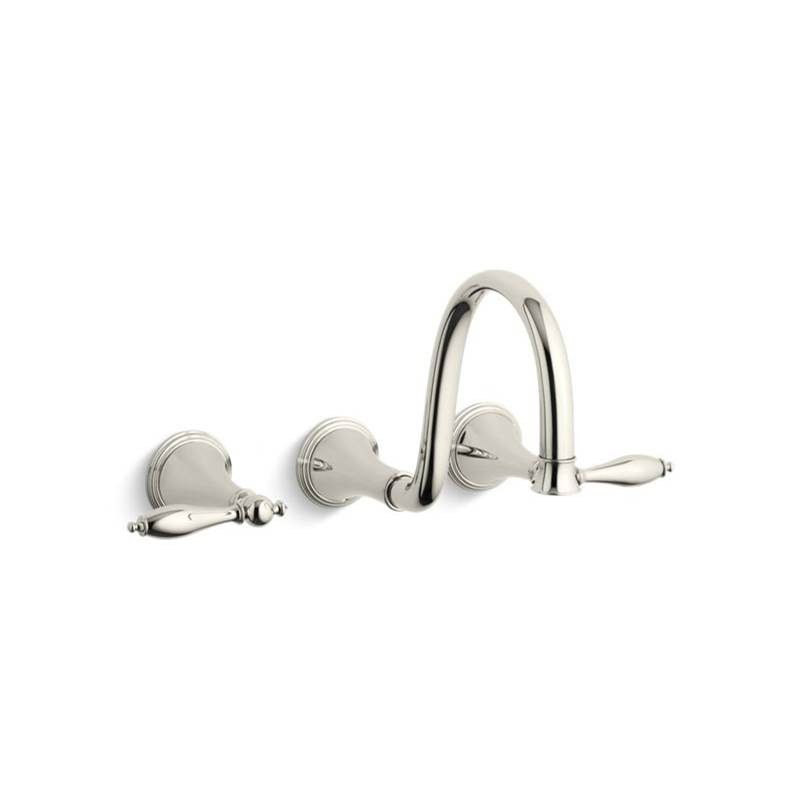 Kohler Wall Mounted Bathroom Sink Faucets item T343-4M-SN