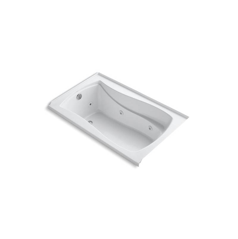 Kohler Three Wall Alcove Whirlpool Bathtubs item 1239-L-0