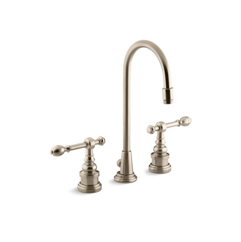 Kohler Widespread Bathroom Sink Faucets item 6813-4-BV