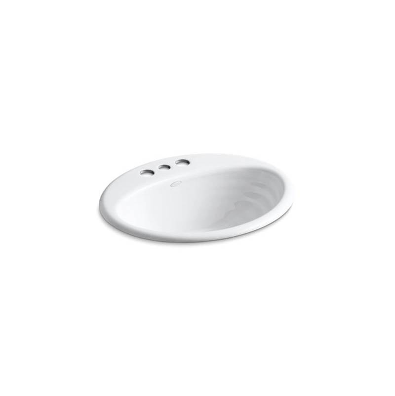 Kohler Drop In Bathroom Sinks item 2906-4-0