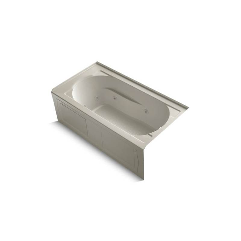 Kohler Three Wall Alcove Whirlpool Bathtubs item 1357-RA-G9