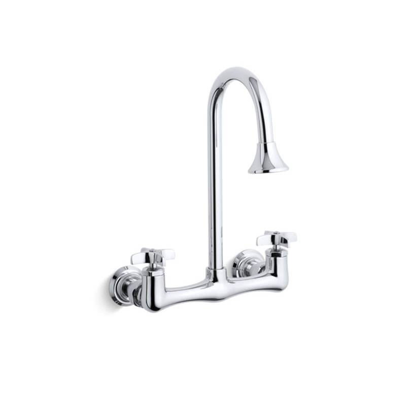 Kohler Wall Mount Laundry Sink Faucets item 7319-3-CP