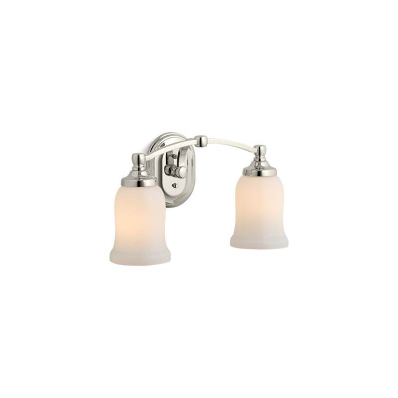 Kohler Two Light Vanity Bathroom Lights item 11422-SN