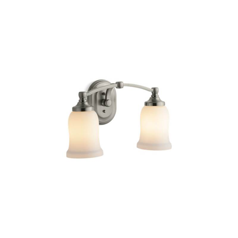 Kohler Two Light Vanity Bathroom Lights item 11422-BN