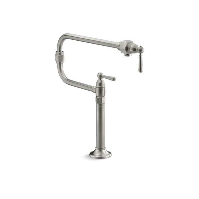 Kohler Deck Mount Pot Filler Faucets item 7323-4-BS