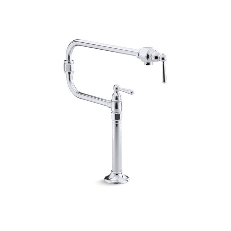Kohler Deck Mount Pot Filler Faucets item 7323-4-S