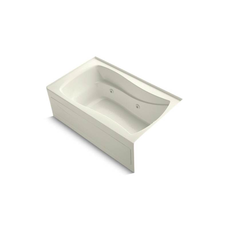 Kohler Three Wall Alcove Whirlpool Bathtubs item 1239-RAW-96