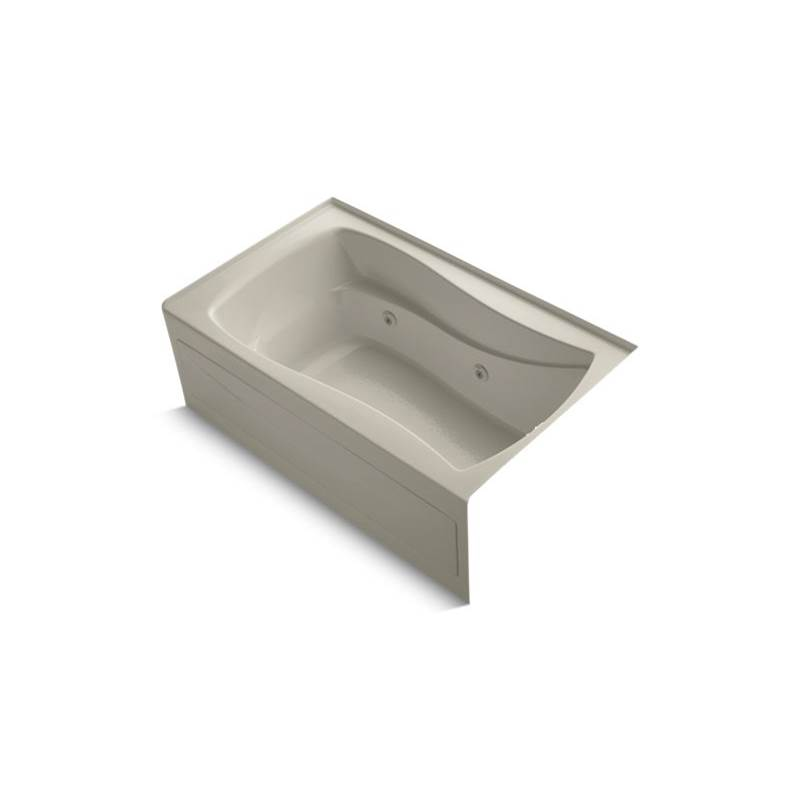 Kohler Three Wall Alcove Whirlpool Bathtubs item 1239-RAW-G9