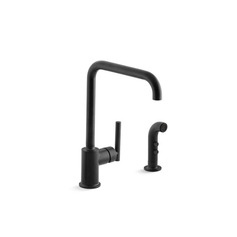 Kohler Deck Mount Kitchen Faucets item 7508-BL