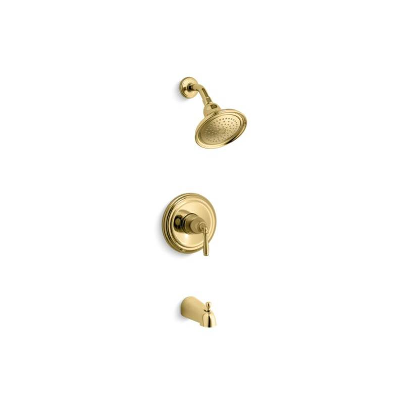 Kohler  Tub And Shower Faucets item TS395-4S-PB