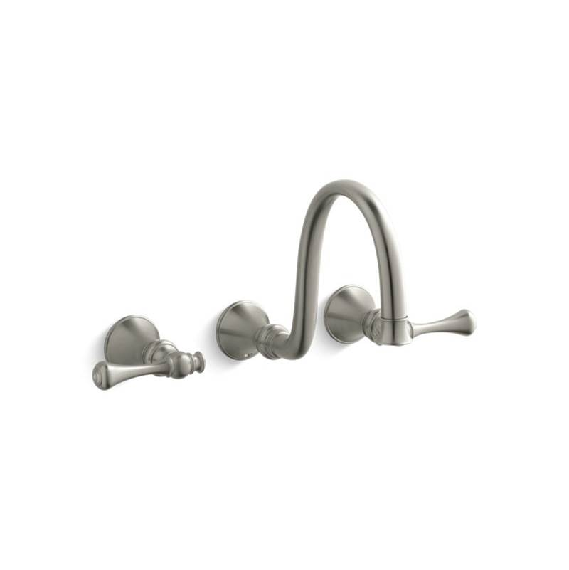 Kohler Wall Mounted Bathroom Sink Faucets item T16106-4A-BN