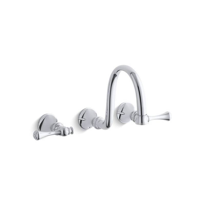 Kohler Wall Mounted Bathroom Sink Faucets item T16106-4A-CP