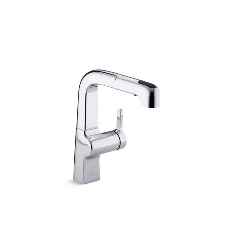 Kohler Single Hole Kitchen Faucets item 6332-CP