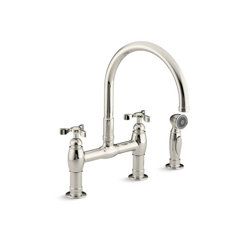 Kohler Bridge Kitchen Faucets item 6131-3-SN
