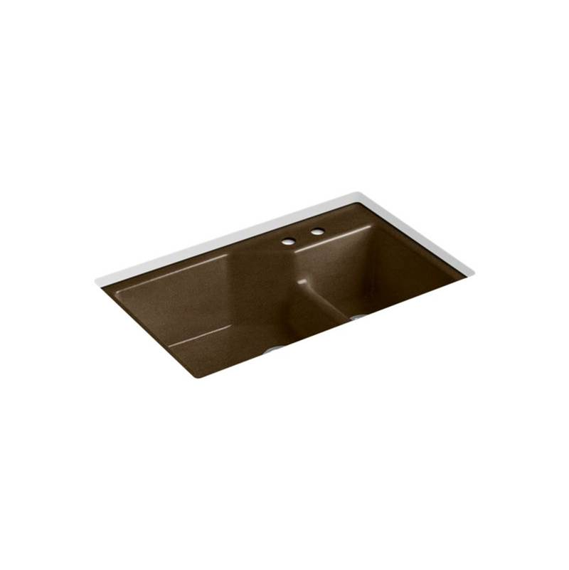 Kohler Undermount Kitchen Sinks item 6411-2-KA
