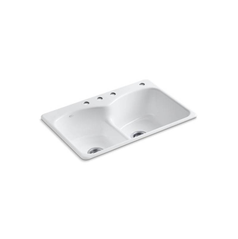 Kohler Drop In Kitchen Sinks item 6626-4-0