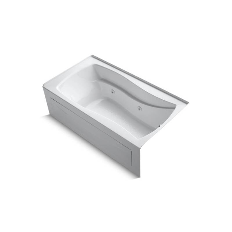 Kohler Three Wall Alcove Whirlpool Bathtubs item 1224-RA-0