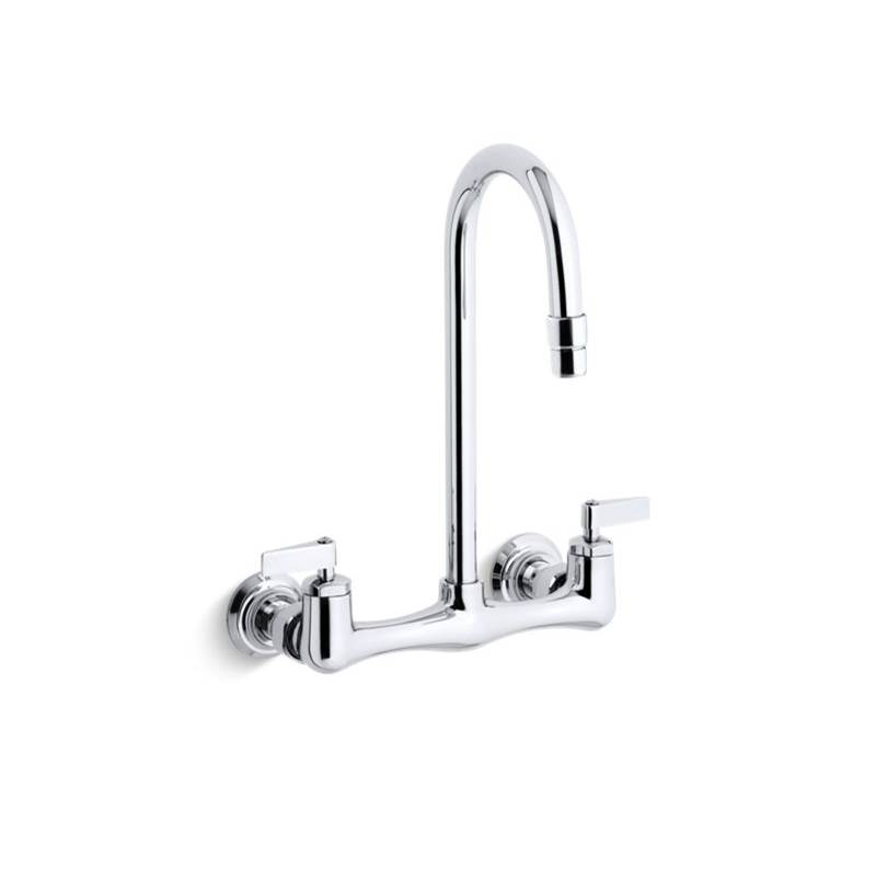 Kohler Wall Mount Laundry Sink Faucets item 7320-4-CP