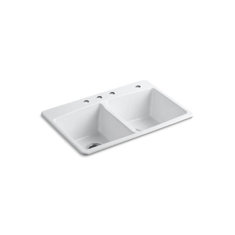Kohler Drop In Kitchen Sinks item 5846-4-0