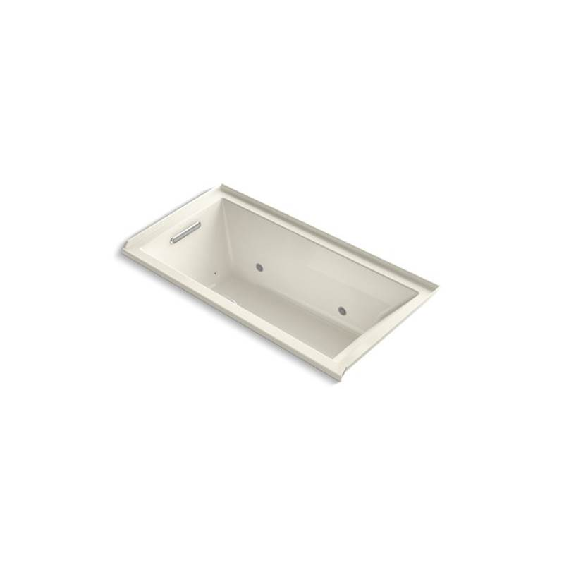Kohler Three Wall Alcove Air Bathtubs item 1167-LGCR-96
