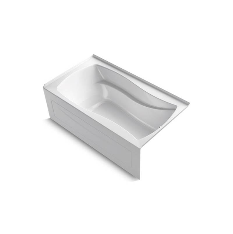 Kohler Three Wall Alcove Air Bathtubs item 1224-GRAW-0